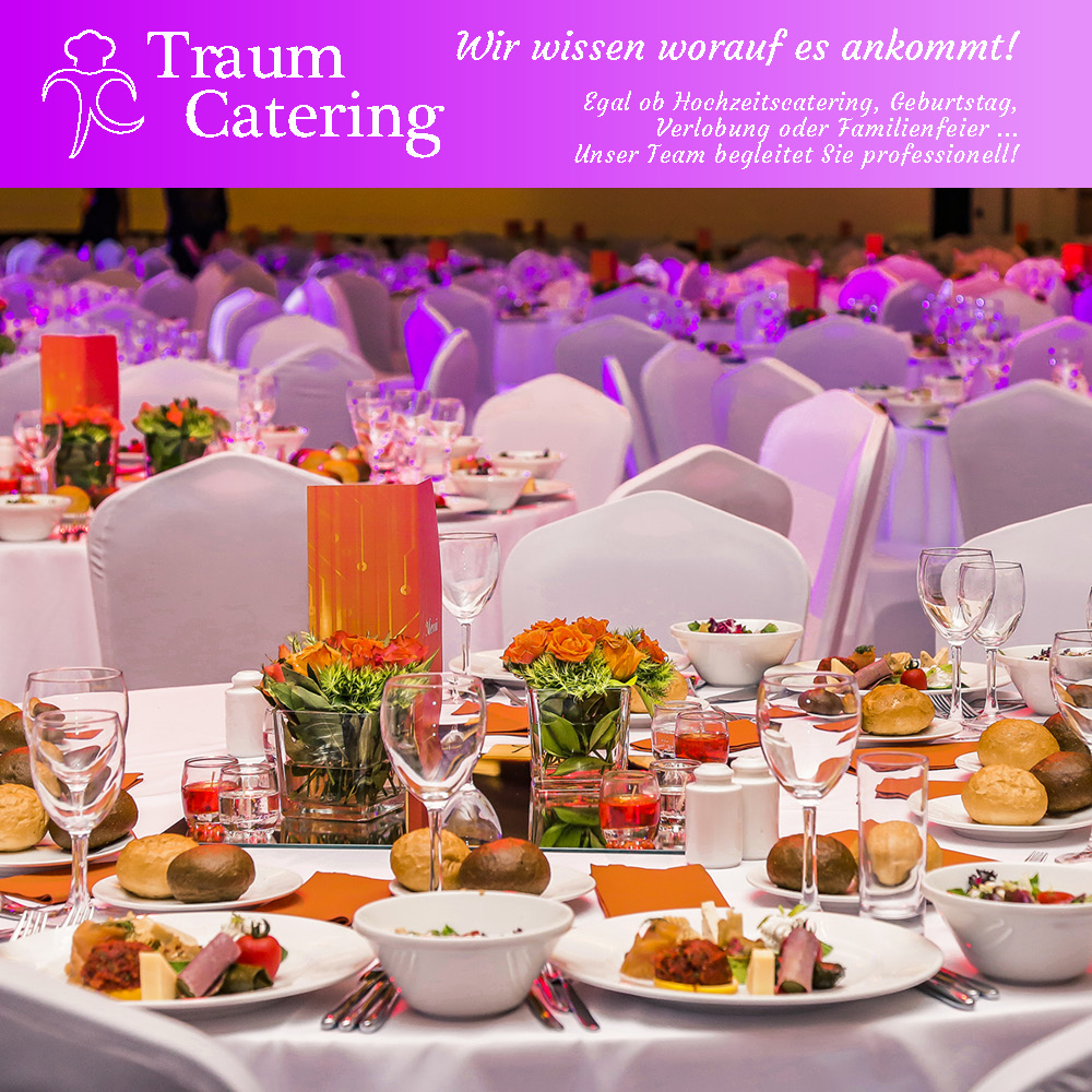 Traumhaft gutes Catering